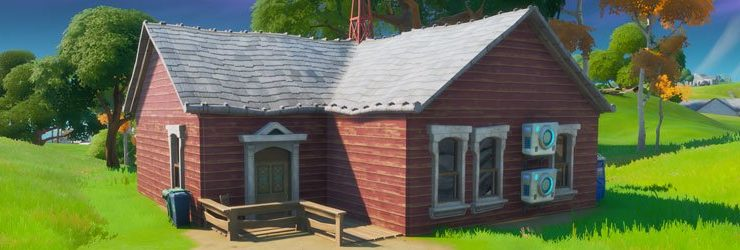 Fortnite Shadow Safe House-Standorte