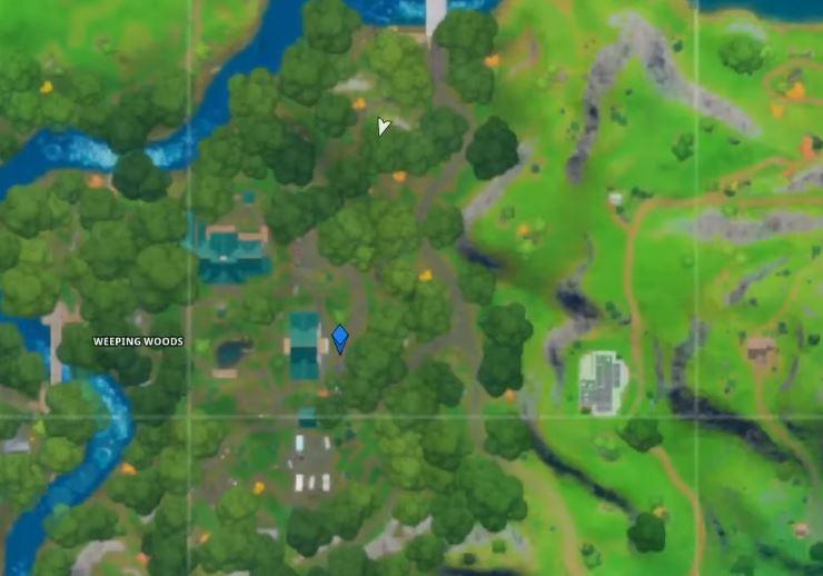 Finde den Ort der Shadow Ollie Fortnite Map