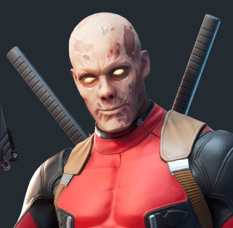 Fortnite Unmasked Deadpool Skin Style