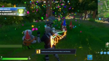 Fortnite Secret Gnomes & Bears Mission - Kostenlose EP für die Quest 'Gnome More War'