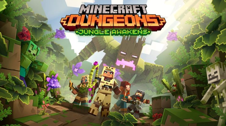 Minecraft Dungeons: Alle Details zum Jungle Awakens und Creeping Winter DLC