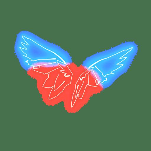 Neon Wings Fortnite Back Bling