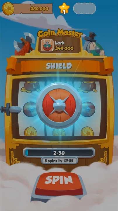 coin-master-Schild