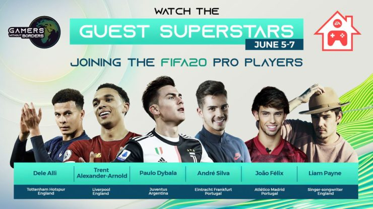 FIFA 20: Paulo Dybala nimmt am Gamers Without Borders-Turnier gegen COVID-19 teil