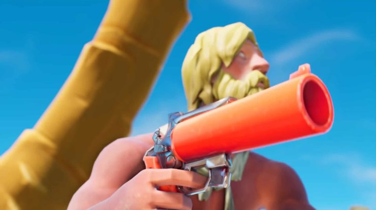 Fortnite Chapter 2 Staffel 3 Leckagen - Flooding & Flare Gun